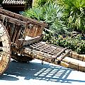 Wood Hand Cart II by Barbara Snyder
