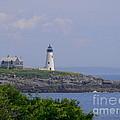 Wood Island Lighthouse by Nancie DeMellia