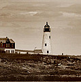 Wood Island Lighthouse by Skip Willits