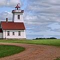 Wood Islands Lighthouse - Pei by Nikolyn McDonald