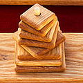 Wood Puzzle by Bernard  Barcos