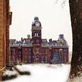 Woodburn Blowing Snow by Dan Friend