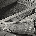 Wooden Boat Fading Away
