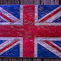 Wooden British Flag by Garry Gay