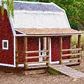 Wooden Cabin  by Jeelan Clark