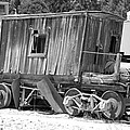 Wooden Caboose by Holly Blunkall