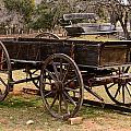 Wooden Cart by John Johnson