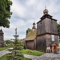 Wooden Church In Rabka Malopolska Poland by Frank Bach