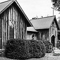 Wooden Country Church 2 by Bob Phillips