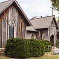 Wooden Country Church by Bob Phillips