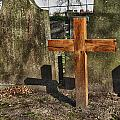 Wooden Cross by Hans Engbers