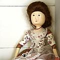 Wooden Doll by Margie Hurwich