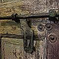 Wooden Door by Jen  Brooks Art