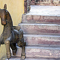 Wooden Horses 2 by Cathy Anderson