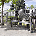 Wooden Park Benches by Jit Lim