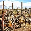 Wooden Ranch Wagon by Ray Van Gundy