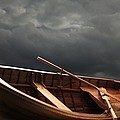 Wooden Rowboat by Don Hammond