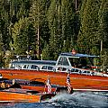 Wooden Runabouts Of Tahoe by Steven Lapkin