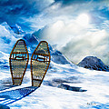 Wooden Snowshoes  by Bob Orsillo