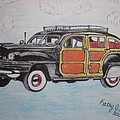 Woodie Station Wagon by Kathy Marrs Chandler