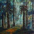 Woodland At Wilsonia 02 by Pusita Gibbs