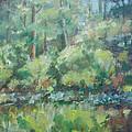 Woodland Pond by Sarah Parks