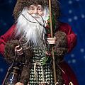 Woodland Santa by Melany Sarafis