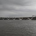 Woodrow Wilson Bridge - Washington Dc - 01131 by DC Photographer