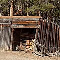 Woodshed On The Holzwarth Historic Site by Fred Stearns