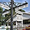 Woodstock Crossroads by Nancy De Flon