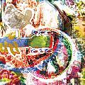 Woodstock Original Painting Print  by Ryan Rock Artist