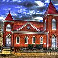 Woodville Baptist Church 2 by Reid Callaway