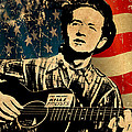 Woody Guthrie 1 by Andrew Fare
