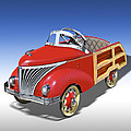 Woody Peddle Car by Mike McGlothlen