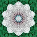 Wool Felt Kaleidoscope by Aliceann Carlton