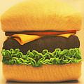 Woolly Burger by Graham Hawcroft pixsellpix