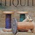 Woolrich Woolen Mill Spools by Stephanie Calhoun