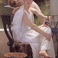 Work Interrupted by William-Adolphe Bouguereau