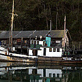 Working Boat by Bill Gallagher