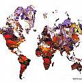 World Atlas by Elena Feliciano