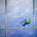 World Breaking Glass by Lincoln Seligman