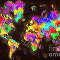 World Map Color by Tim Gilliland