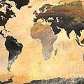 World Map   Turner 1 by John Clark