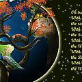 World Needs Tree by Artist Nandika  Dutt