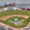 World Series Batting Practice - Att Park by David Bearden