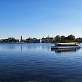 World Showcase Lagoon Walt Disney World by Thomas Woolworth