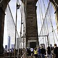 World Trade Center Through The Bridge by Madeline Ellis