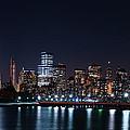 World Trade From Liberty State Park by Raymond Salani III