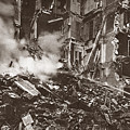 World War I Paris Bombed by Granger