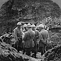 World War I Trench - To License For Professional Use Visit Granger.com by Granger